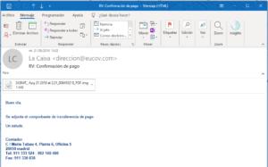 virus por correo electronico