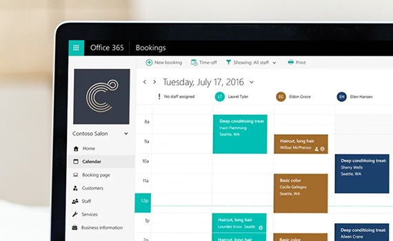 microsoft 365 bookings